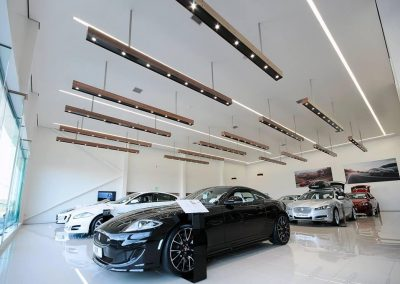 Jaguar Showroom