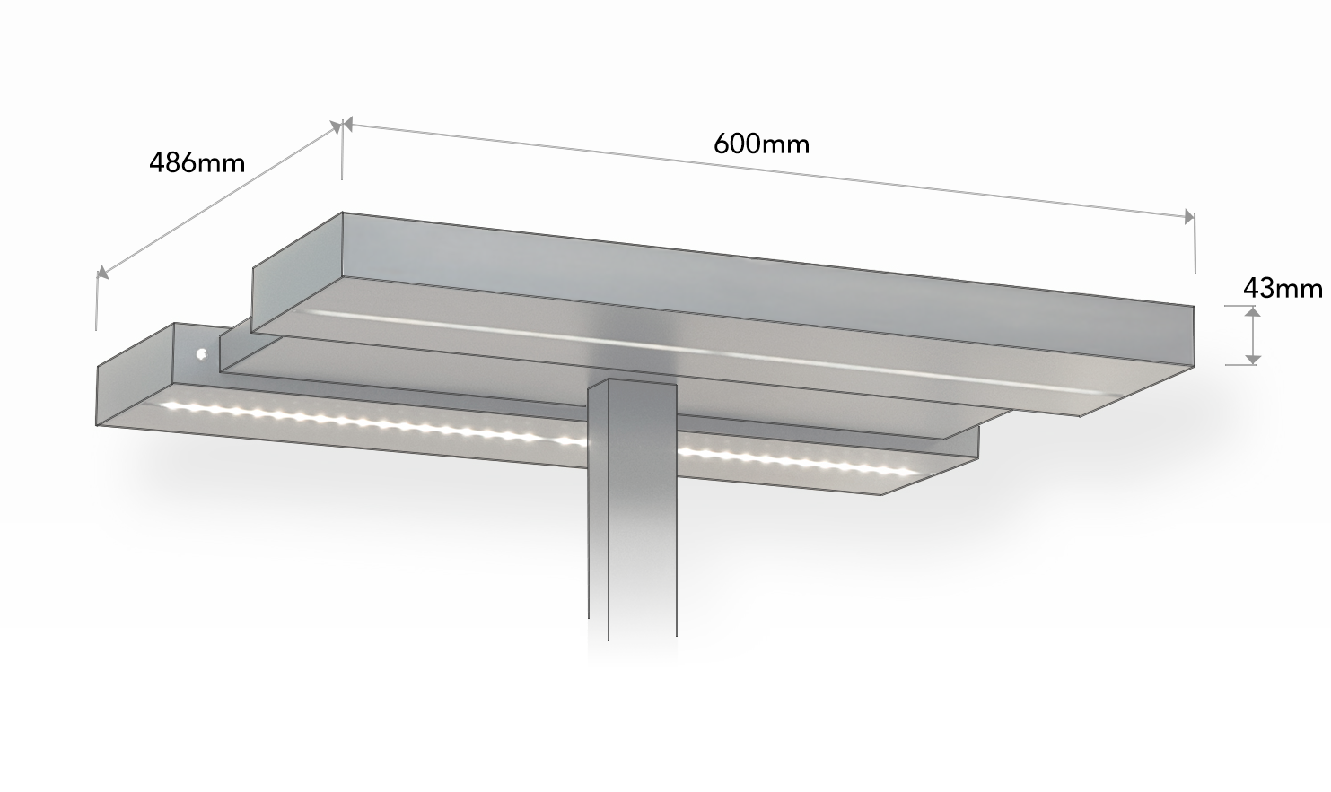 Ecoblade Free Standing Commercial Lighting
